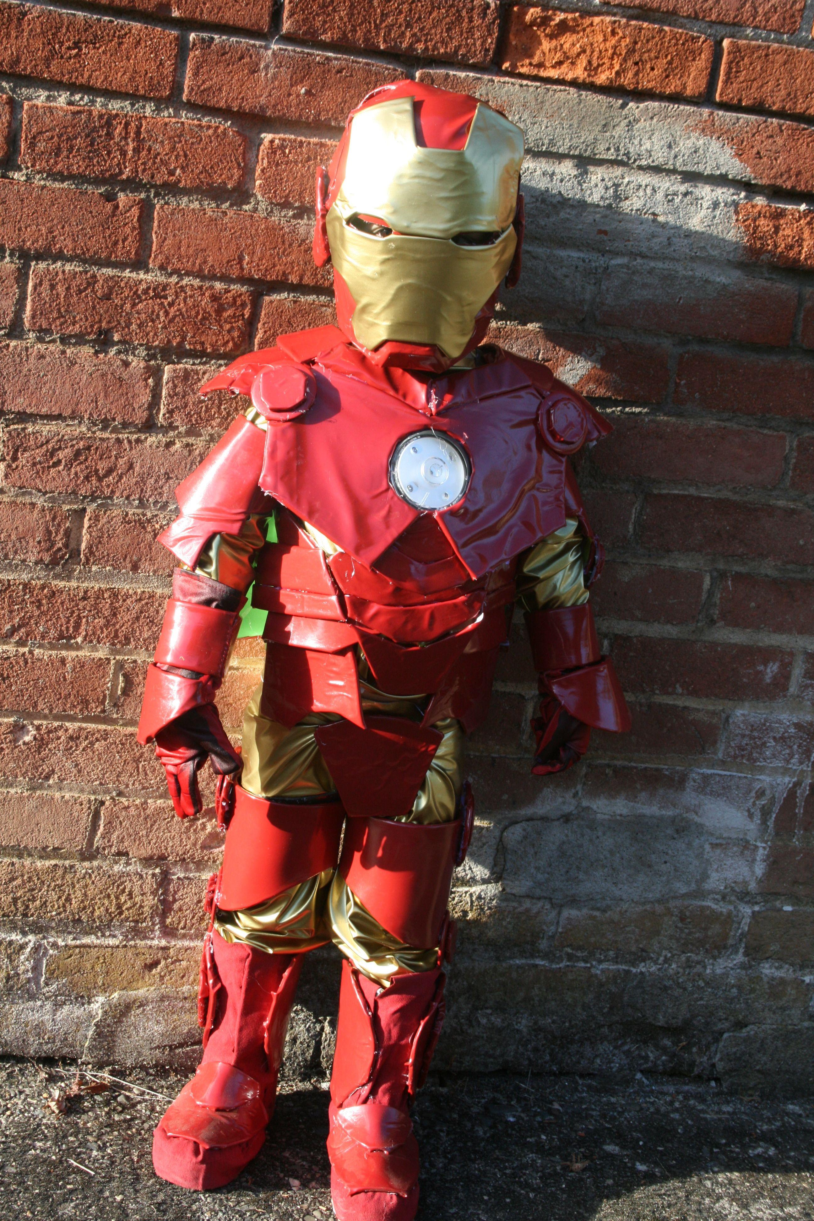 Homemade Ironman costume - Iron man, Halloween costumes, Costumes