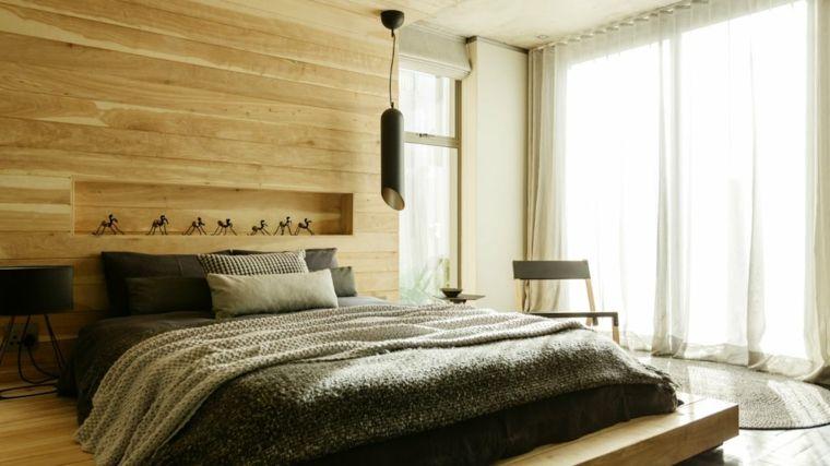 Recamaras modernas, unos diseños llenos de elegancia Hogar - recamaras de madera modernas