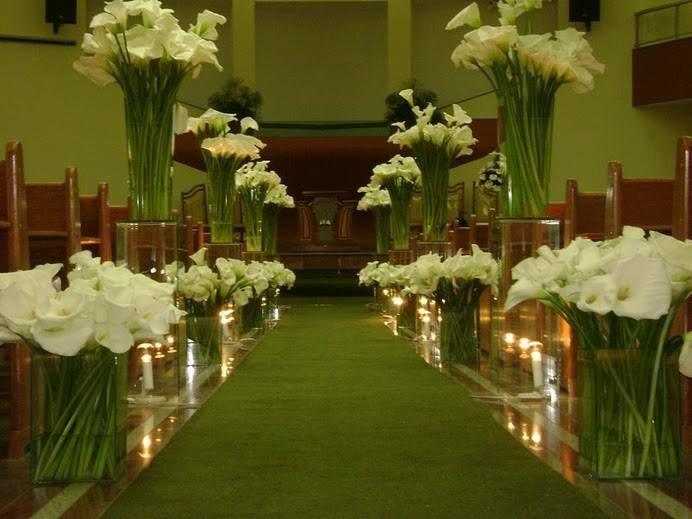Copo De Leite Decoracao Igreja Casamento Decoracao De Casamento