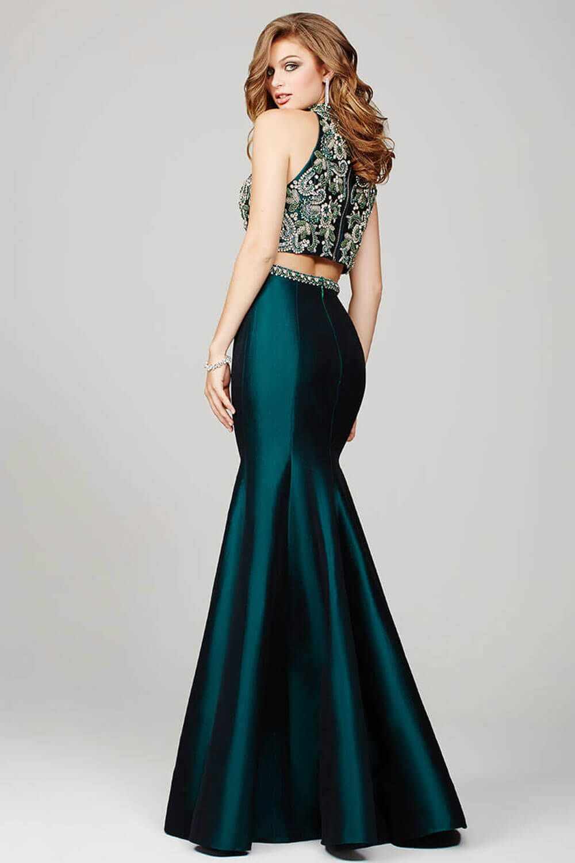 Green Two Piece Mermaid Prom Dress 32562 Maxi Dress Prom Prom Dresses Emerald Green Prom Dress [ 1500 x 1000 Pixel ]