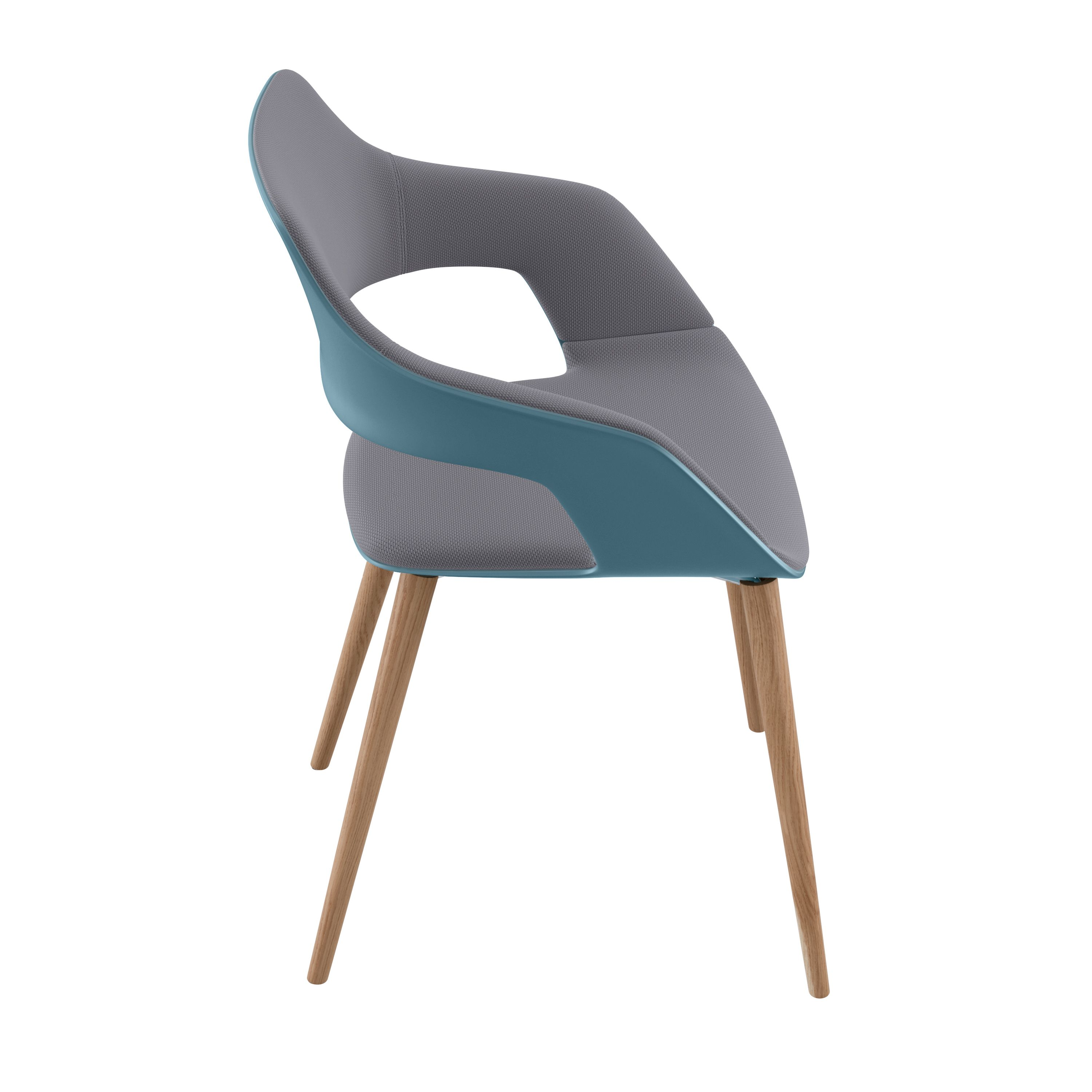 Occo Chair | Four leg chair with oak frame | Desing by jehs+laub ...