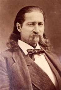 """""""Wild Bill"""" Hickok, born May 27,1837, died August 2, 1876. Killed while playing poker."""