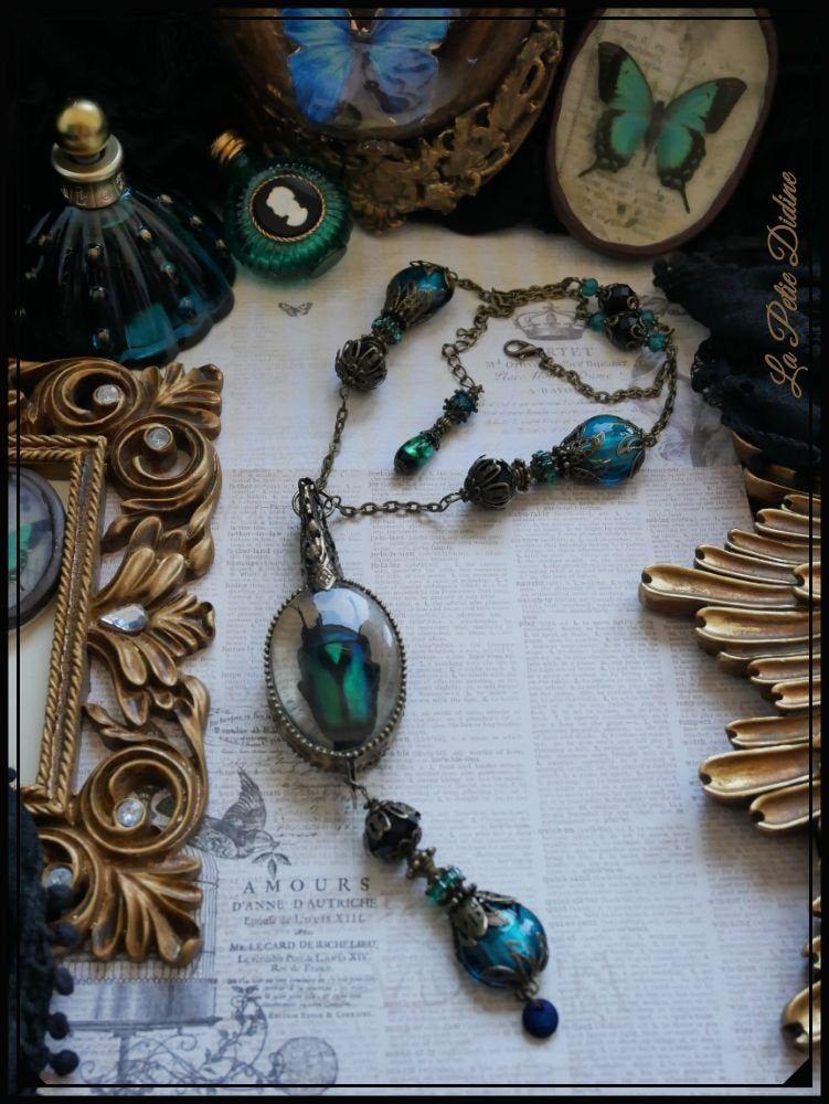 bijoux Art Nouveau Bijoux Paon Pendentif Art Nouveau Paon Collier