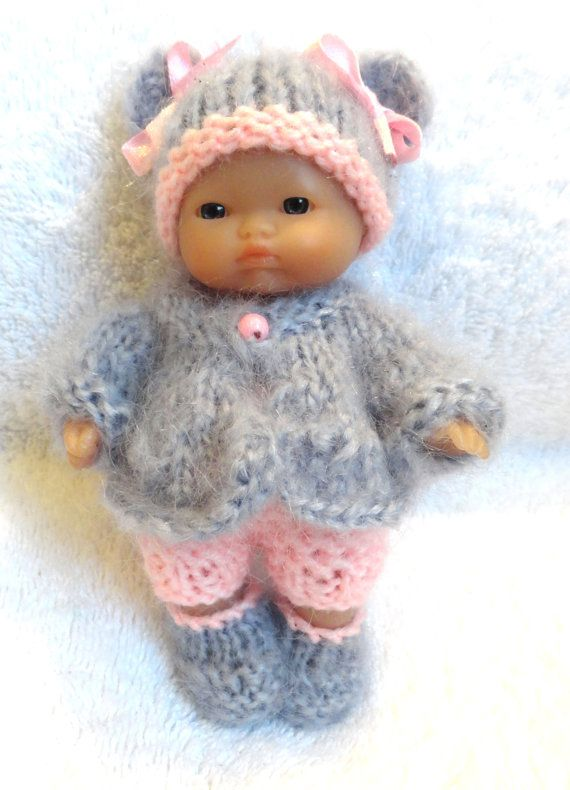 Hand Knitted Dolls Clothes For 5 Berenguer Doll 47 Dolls