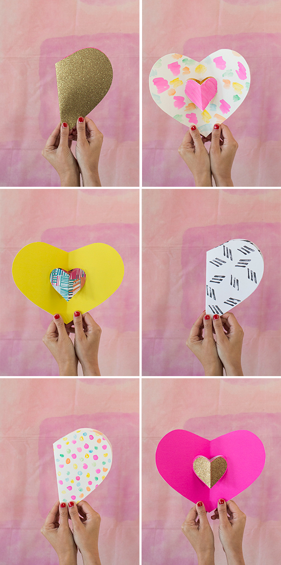 Valentine\'s Day Pop-Up Card | Aspirations :: DIY | Pinterest ...