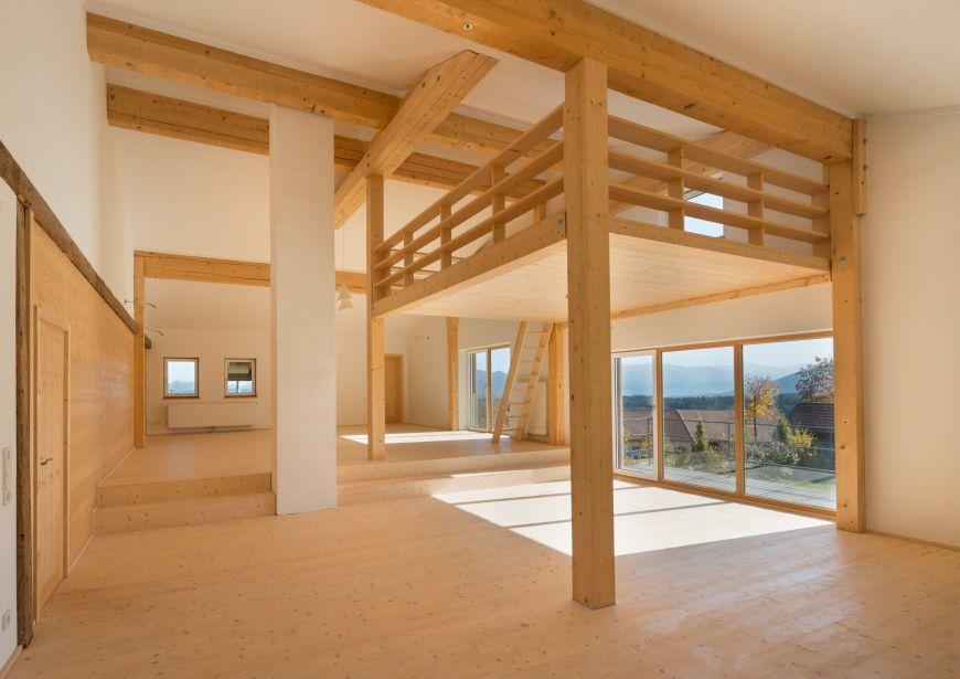 Wohnatelier - Sanierung und Umbau eines Bauernhauses im Allgäu