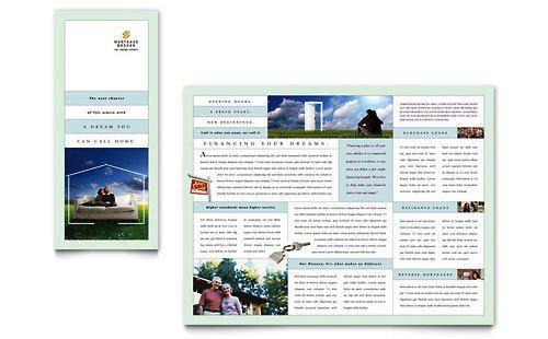 Contoh Pamflet Brosur Pegadaian  Brochure  Pamphlet Designs