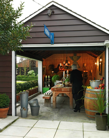 How To Turn A Boring Garage Into The Home Extension Of