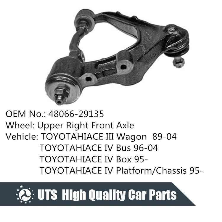 Car spare parts toyota upper control arm right front with