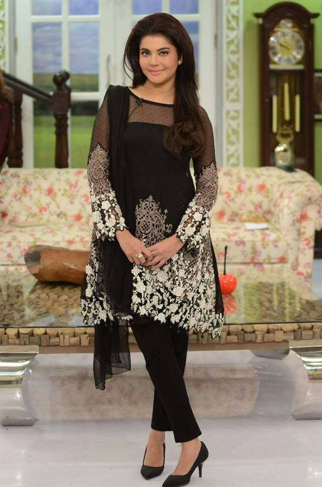 143588e68d33 Party wear black dress | Pakistani Party Wear Dresses 2017 in 2019 ...