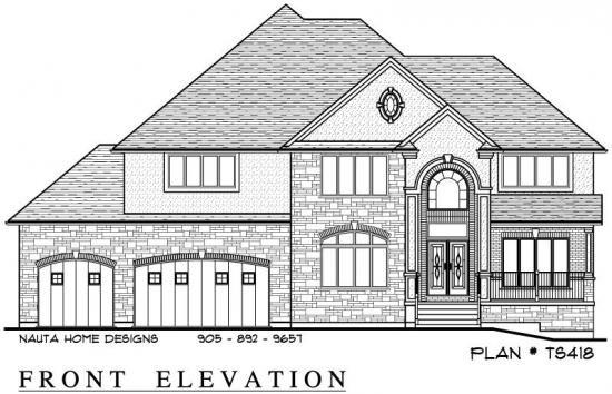 Two storey house plan ts418 nauta home designs for Nauta home designs
