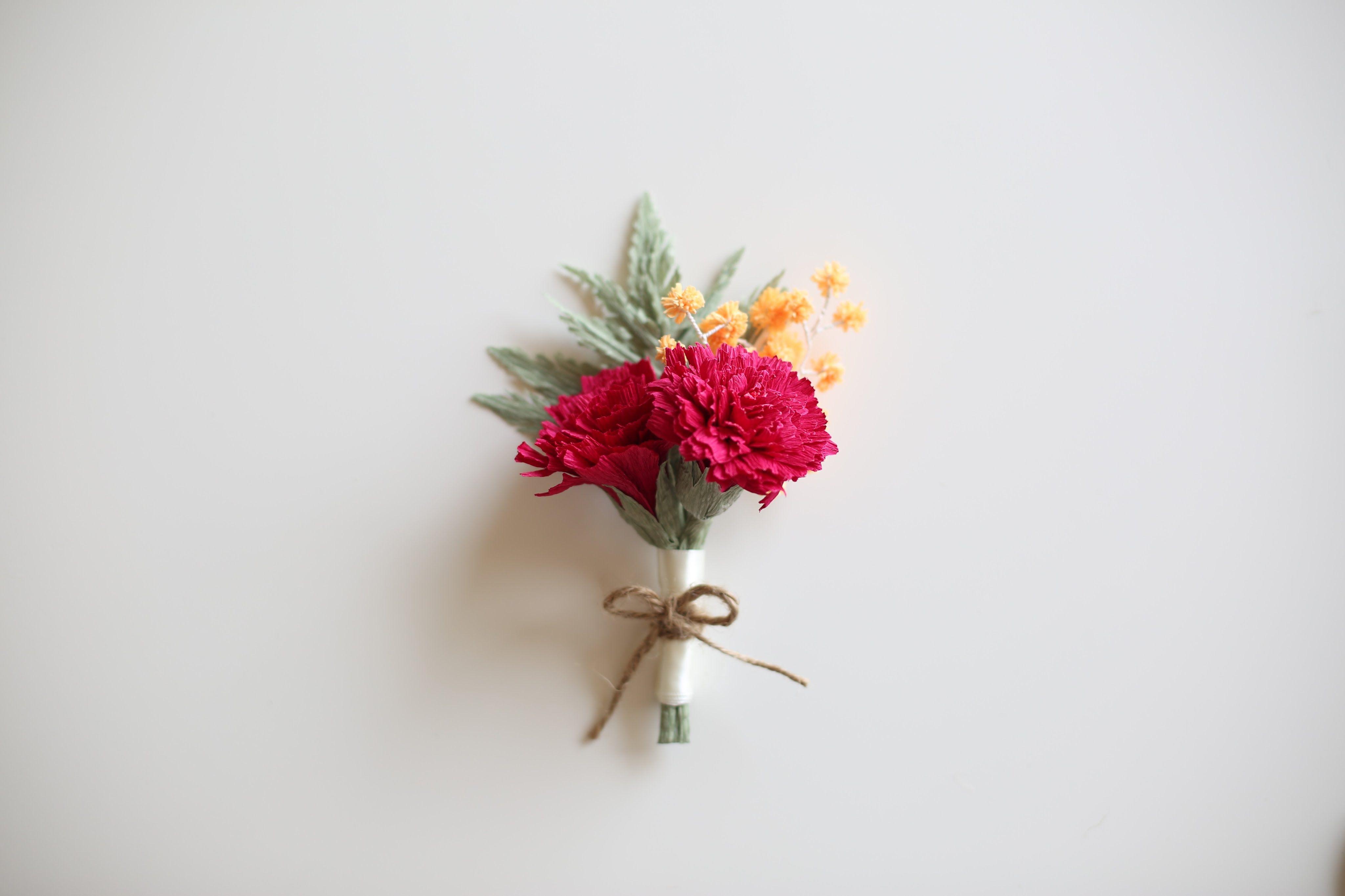 How To Make Paperflowers Rumohra Easy Simple Paper Flowers