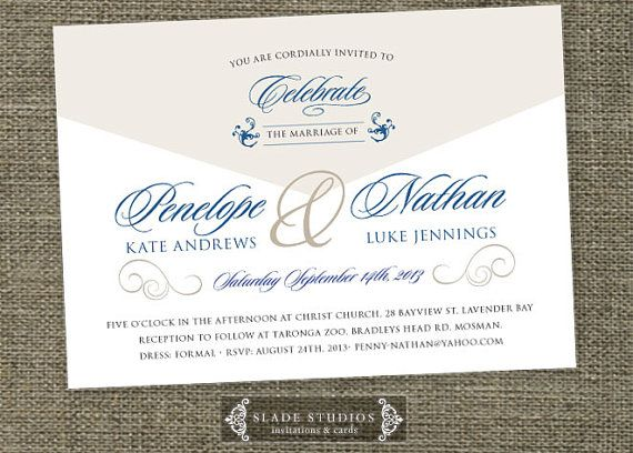 Formal script wedding invitations printable traditional wedding formal script wedding invitations printable traditional wedding invitations print at home stopboris Image collections