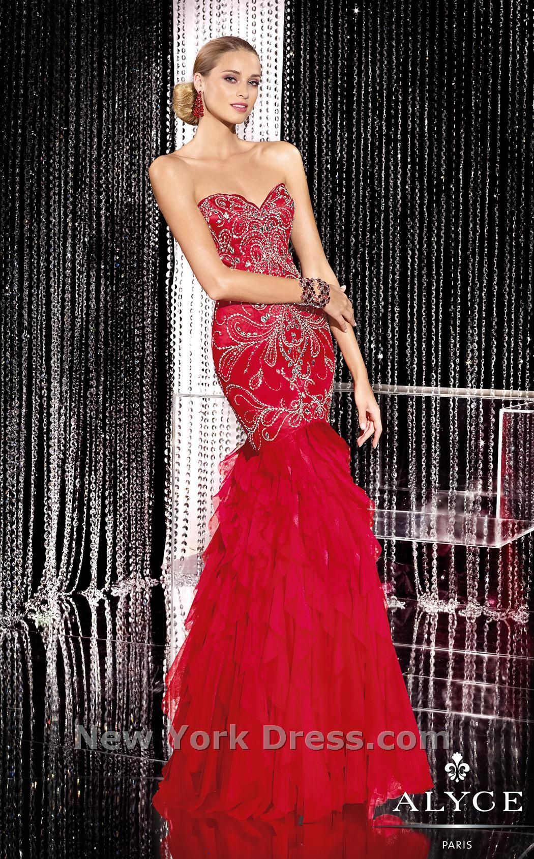 Pin by diane p on colorred u silver pinterest glamorous evening