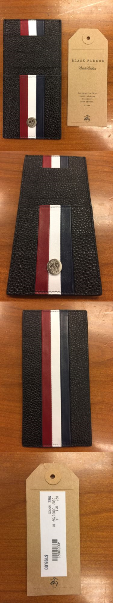 Business and credit card cases 105860 brooks brothers black fleece business and credit card cases 105860 brooks brothers black fleece genuine leather card holder red reheart Images