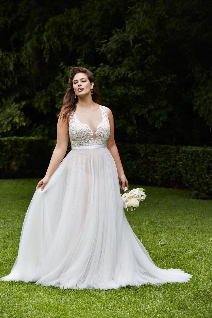 Flattering wedding dresses for plus size  Blush Bridal  WTOO Wedding Dress Marnie