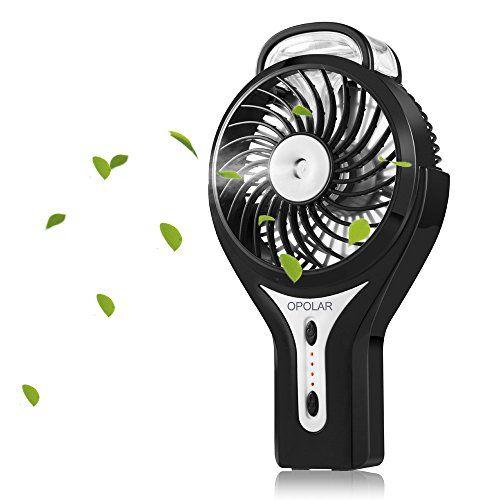 Portable Mini Fan Hand held Cooling Cool Water Spray Misting Fan Rechargeable UK