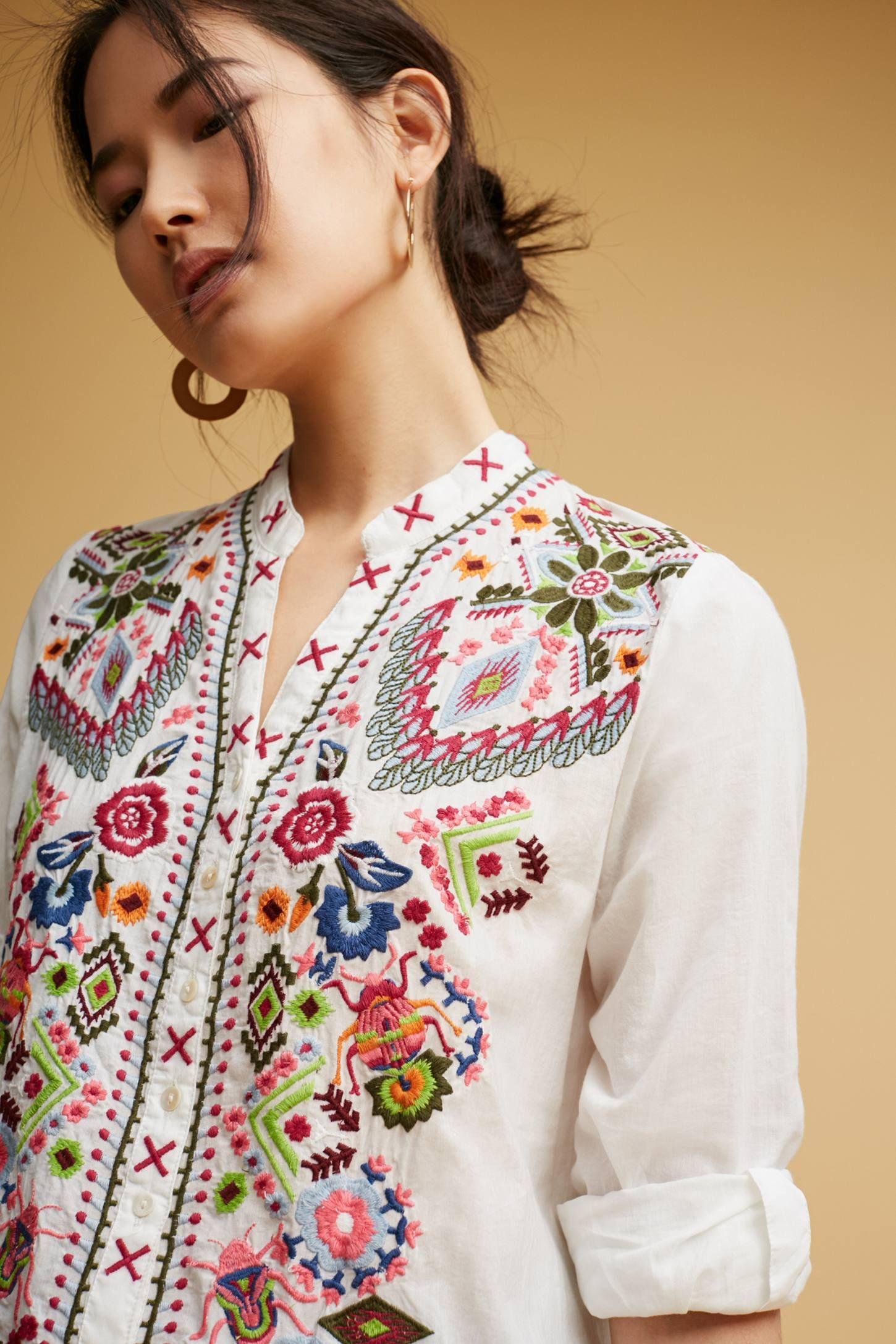 Vanna Embroidered Tunic