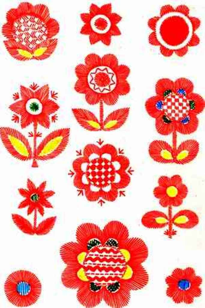 Vladimir embroidery. Вдадимирская вышивка.