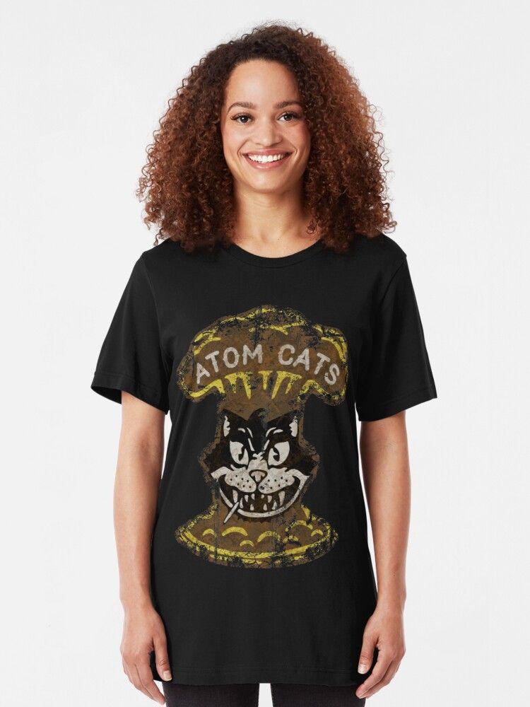 Atom Cats Tshirt by DudePal