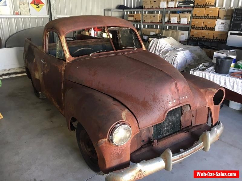 1951 FX Holden Ute 50-2106 Restoration Project Burnout Car Rat Rod ...