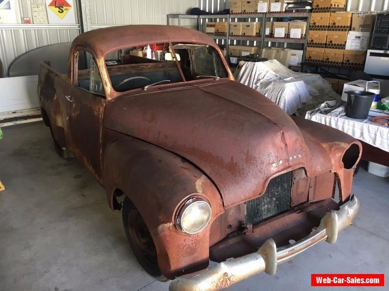 1951 FX Holden Ute 50-2106 Restoration Project Burnout Car Rat Rod ...