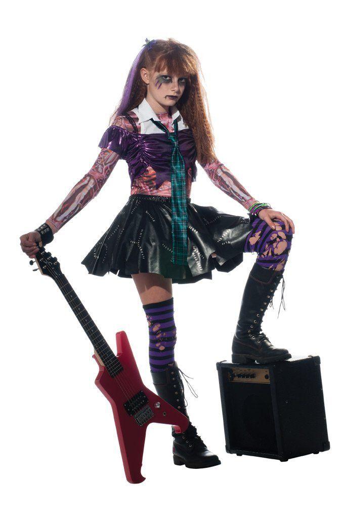 Amazon.com Girl Zombie Punk Rocker #2 Costume  sc 1 st  Pinterest & Amazon.com: Girl Zombie Punk Rocker #2 Costume   Halloween favs ...