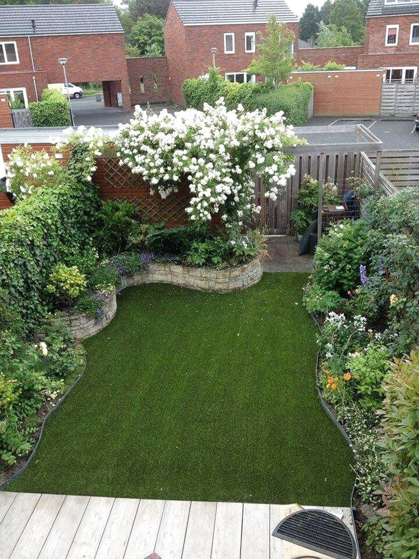 ✔48 Best Small Yard Landscaping & Flower Garden Design Ideas #SmallYard #FlowerGarden#design #flower #flowergarden #garden #ideas #landscaping #small #smallyard #yard