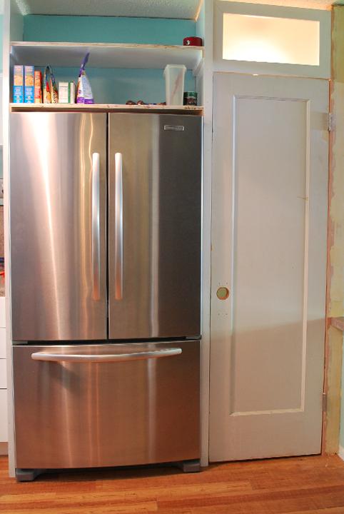 Recent Tweaks Hernando House Refrigerator Cabinet Fridge Shelves Pantry Storage