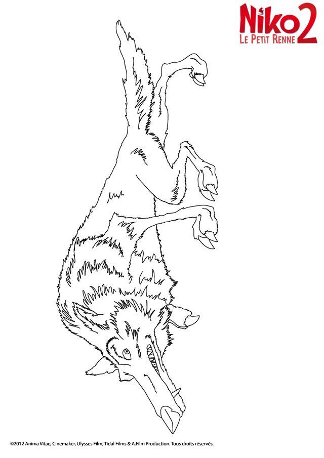 NIKO le petit renne 2 + coloriages + cahier d'activité