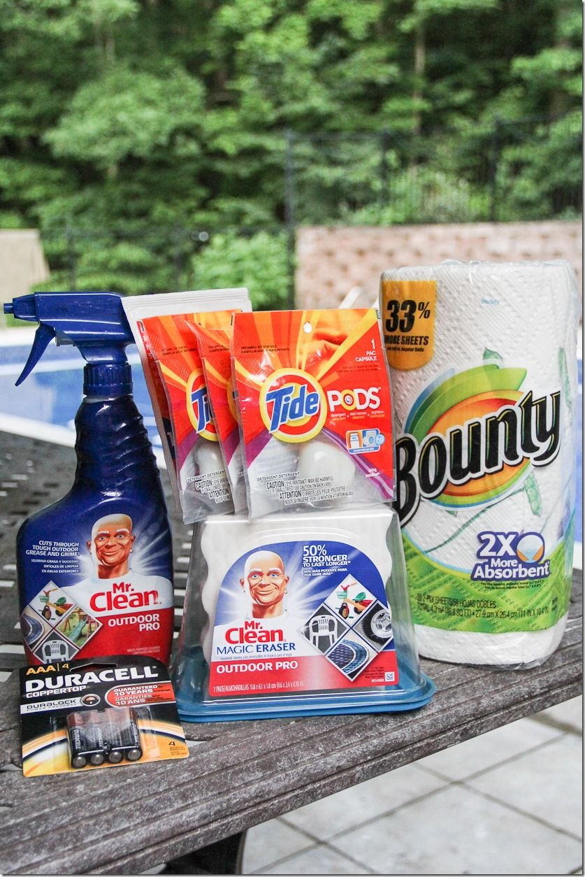 Prize Mr Clean Outdoor Pro Spray Mr Clean Magic Eraser Outdoor Pro Bounty Paper Towels Tide Pods Dura Spring Cleaning Spring Cleaning Checklist Cleaning