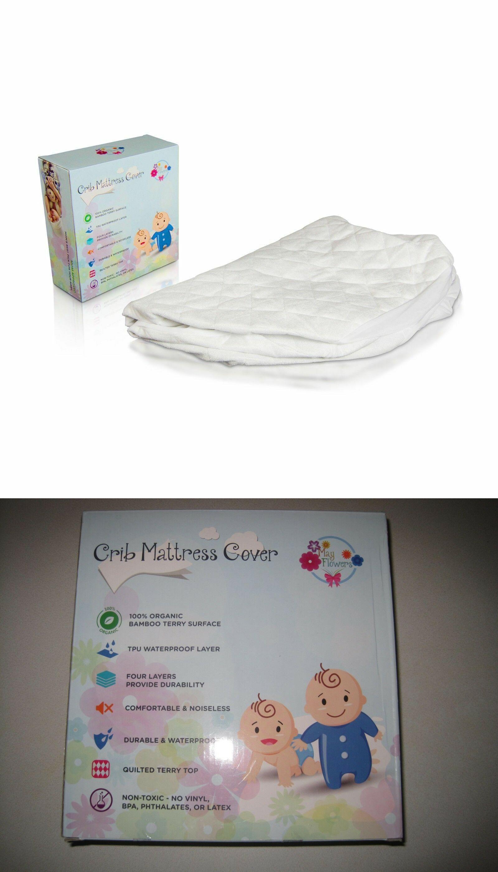Waterproof Baby Crib Mattress Cover Organic Bamboo Crib Mattress Pad Crib Mattress Cover Crib Mattress Mattress Covers