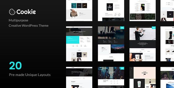 Cookie - Multipurpose Creative WordPress Theme - https://themekeeper ...