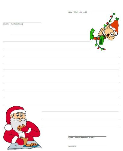letters to santa paper to print write letters to santa with this printable letter paper 15367