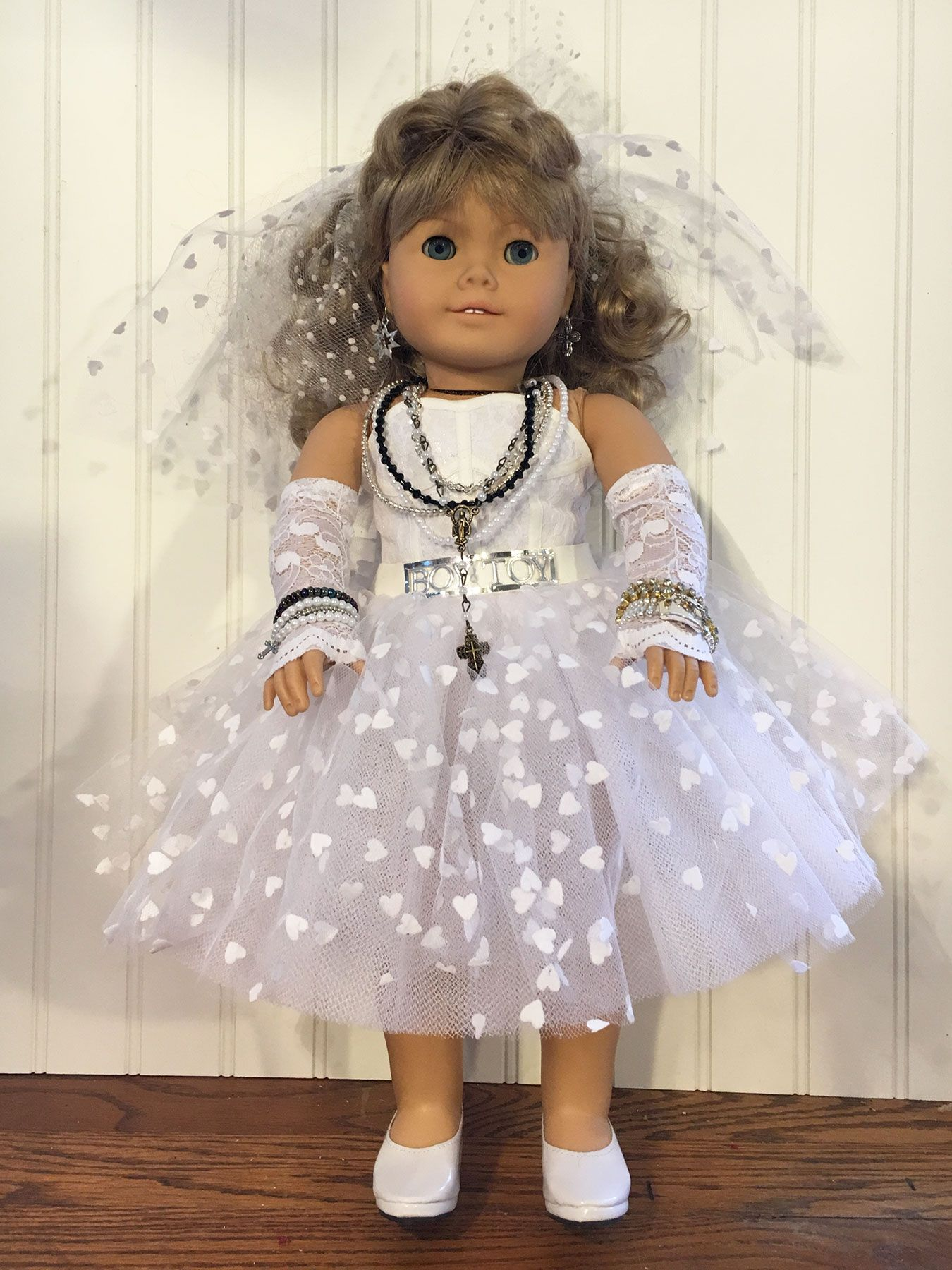 Kirsten as Madonna american girl doll cosplay Pinterest