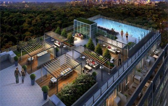 Rise Condos Talkcondo New Condos In Toronto Rooftop Restaurant Design Rooftop Design Rooftop Patio