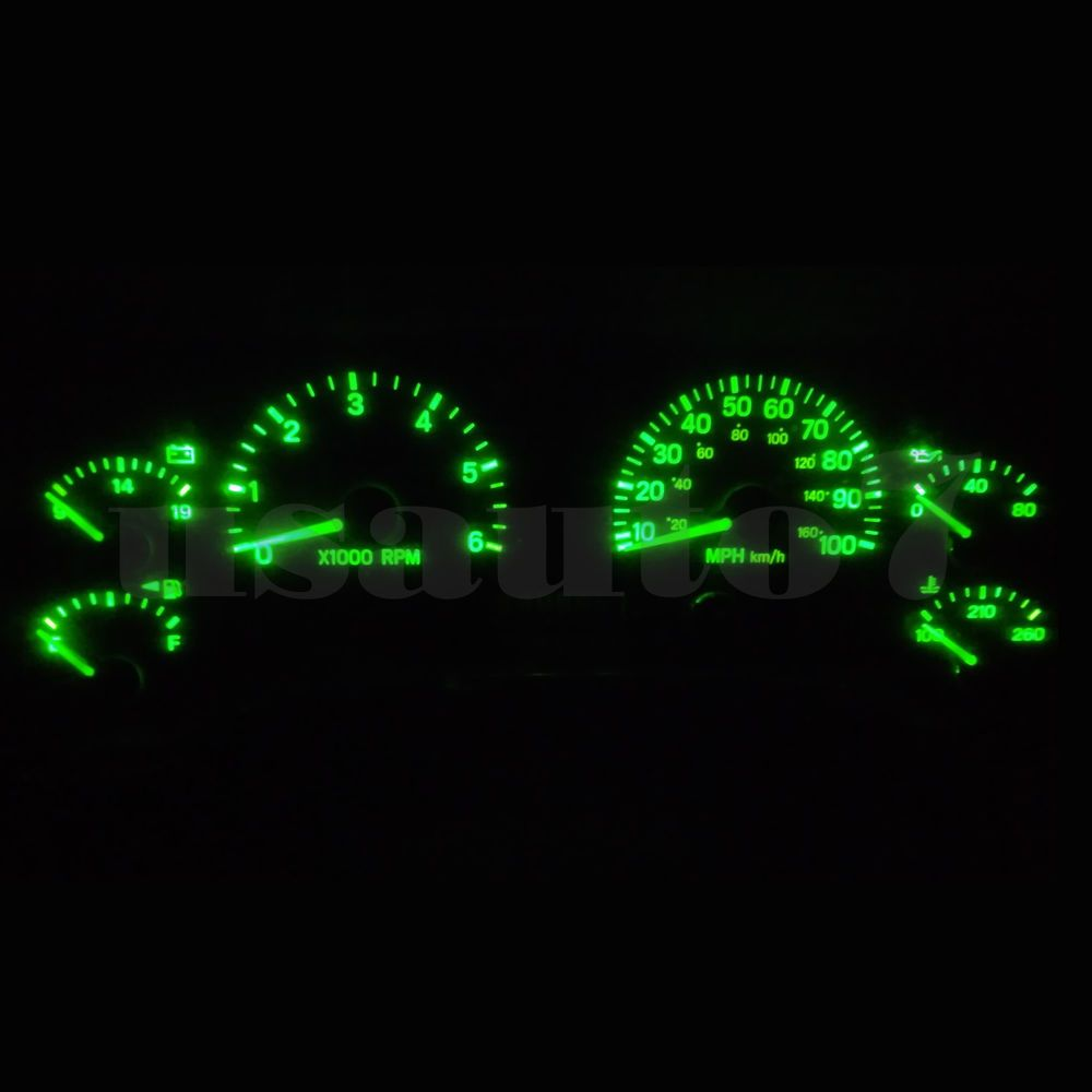Details About Dash Instrument Cluster Gauge Green Smd Led Light