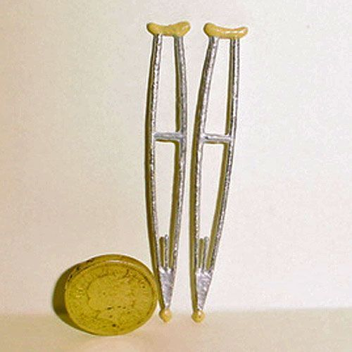 12th scale metal crutches for your miniature medical setting.£3.65 from aminiaturemarvel.com for that wounded soldier home from the front #miniaturemedical 12th scale metal crutches for your miniature medical setting.£3.65 from aminiaturemarvel.com for that wounded soldier home from the front #miniaturemedical 12th scale metal crutches for your miniature medical setting.£3.65 from aminiaturemarvel.com for that wounded soldier home from the front #miniaturemedical 12th scale metal crutches for #miniaturemedical