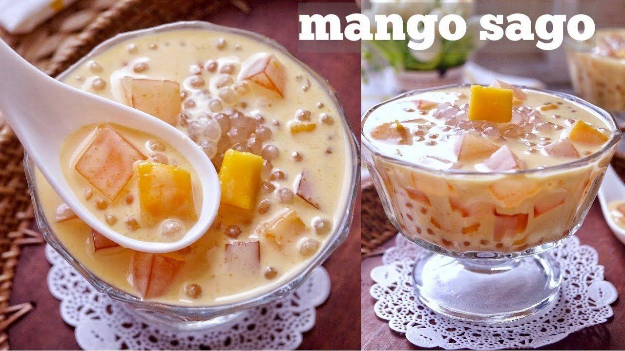Mango Sago Dessert Mangga Super Creamy Dan Segar Youtube