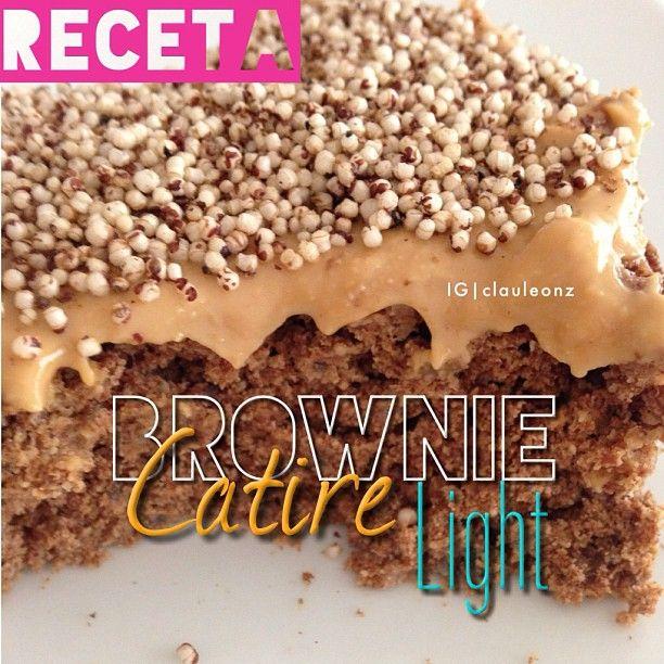 .@Claudia Park Park León | -Receta Brownie Catire Light! Ingredientes: 2 cucharadas de harina de al... | Webstagram - the best Instagram viewer
