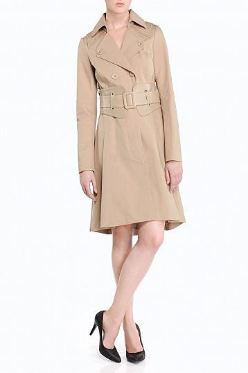 #Mackage Lan trench coat in Camel