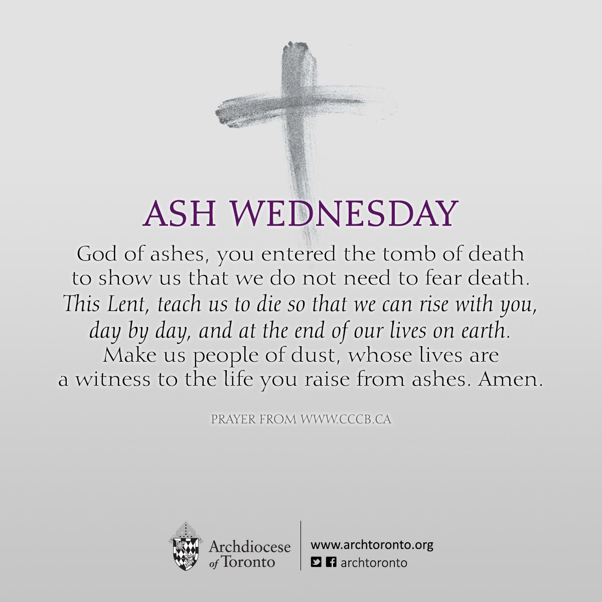 Prayer for ash wednesday catholic lent lent2015 ashtag prayer for ash wednesday buycottarizona Image collections