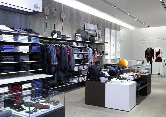 Lacoste Store - Rue de Sèvres in Paris.   yo   Pinterest   Lojas b0476c2784
