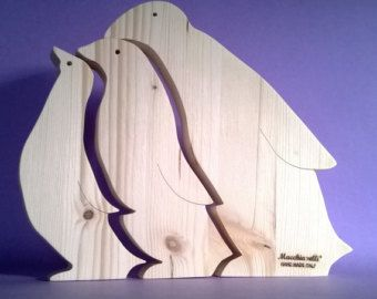 Wooden toys Animal puzzle Mother's day Wooden by LadyEvaDESIGN
