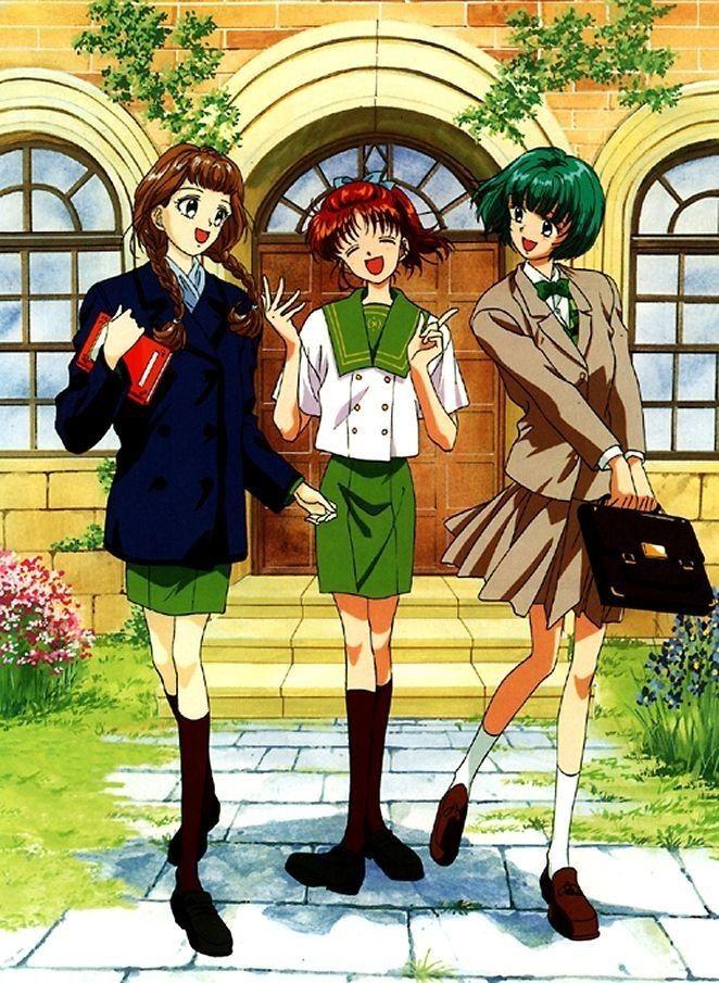Imagen de Yborian Vegas en marmalade boy Anime, Infancia