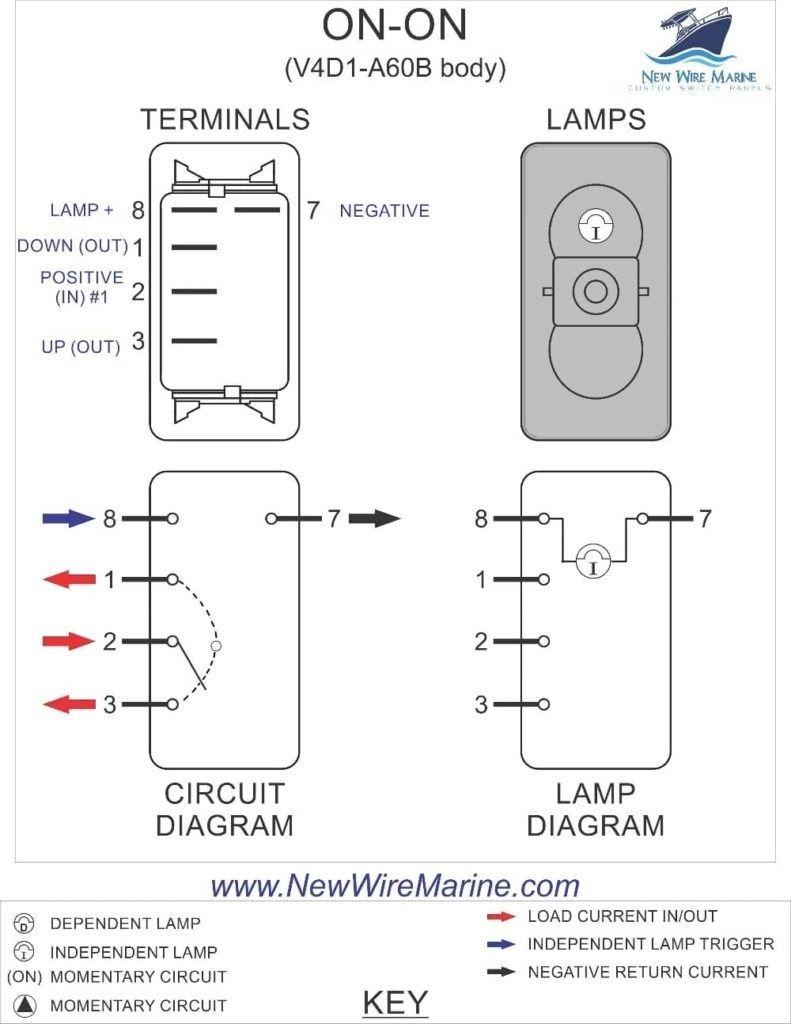 Best Of Dpst Rocker Switch Wiring Diagram In 2020 Diagram Wire Rocker