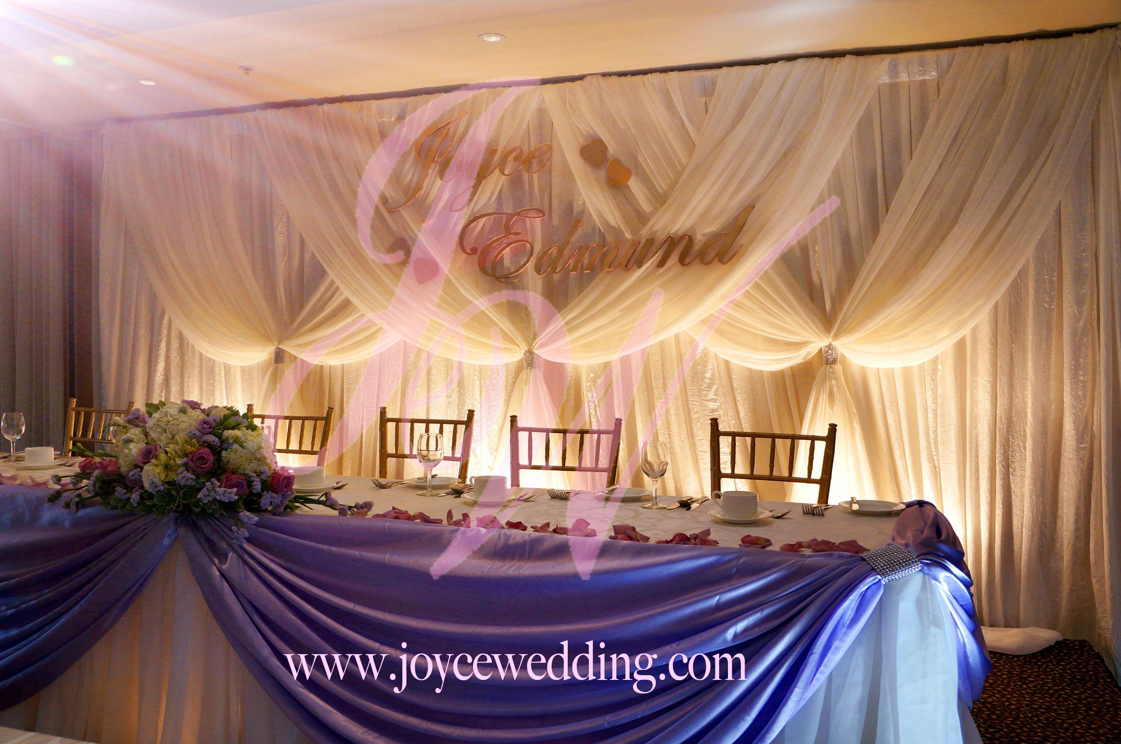 Reception Backdrop Ideas Joyce Wedding Services Service Provides One Stop