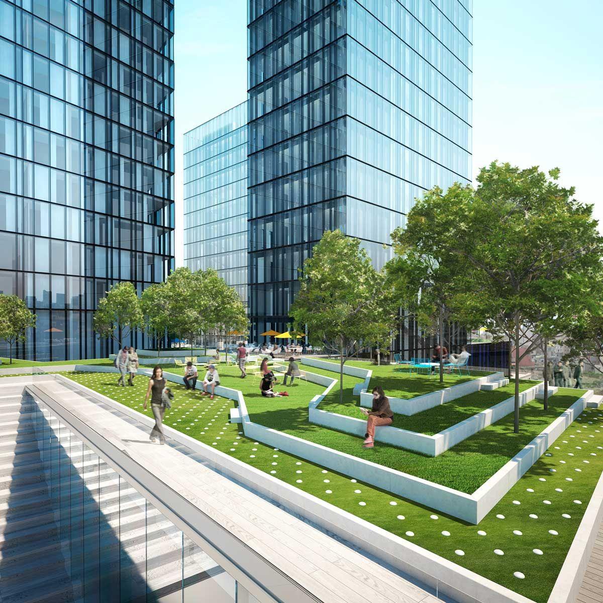 Render 3d exterior de edificio de uso mixto en beirut for Exterior edificios