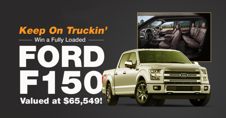 PCH Win a Fully Loaded FORD F150... Ford f150, Ford