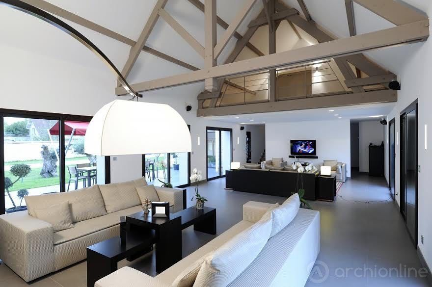Sylvie Desmond - Maison individuelle à lu0027Isle sur Tarn Photo - exemple de maison moderne
